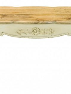 Shabby Chic Painted Mango Wood Bench