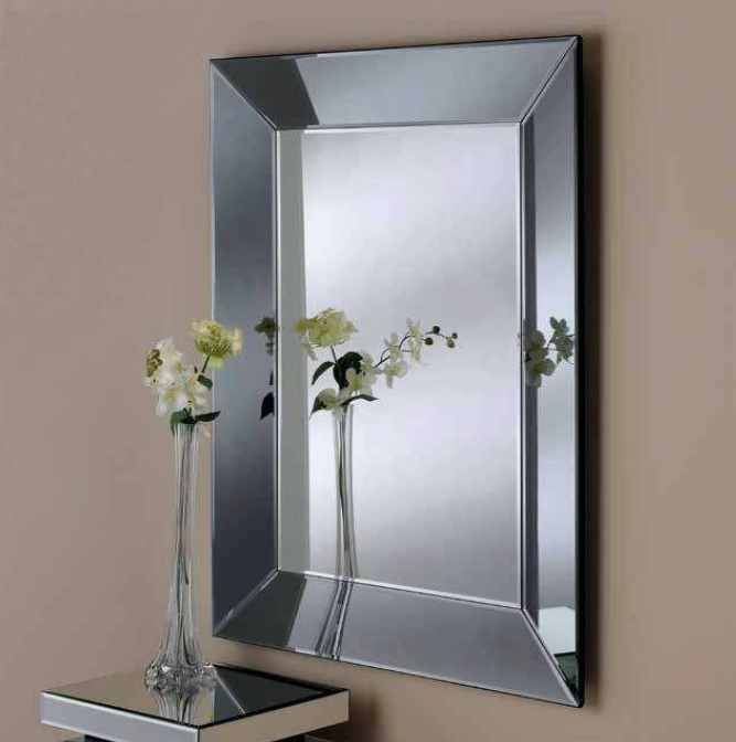 Nantes Art Deco Curved Frame Mirror Bournemouth Poole