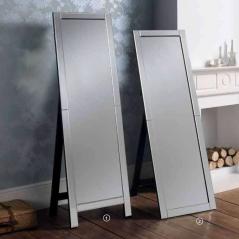 cheval art deco mirror