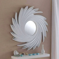 white contemporary mirror