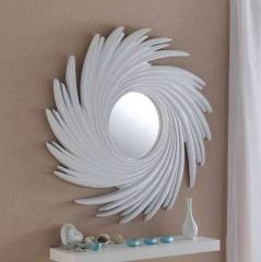 white contemporary mirror
