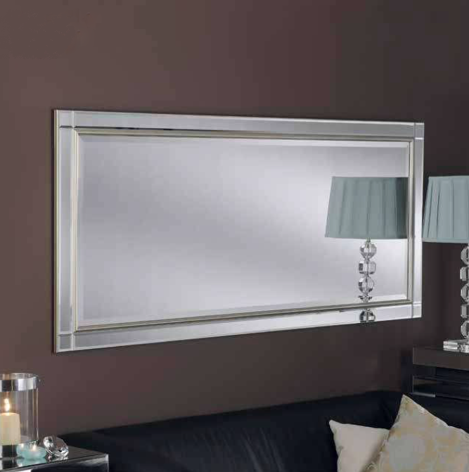 Liverpool bevelled contemporary mirror bournemouth for Mirror liverpool