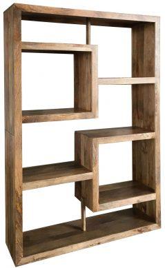 Light mango wood Bookcase