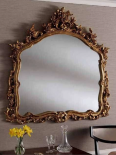 gold ornate gilt mirror