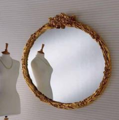gold ornate gilt mirror