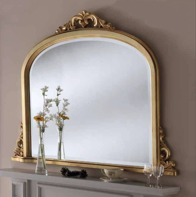 891ab3a961cbf Buckingham London Gold Overmantle Mirror   Bournemouth