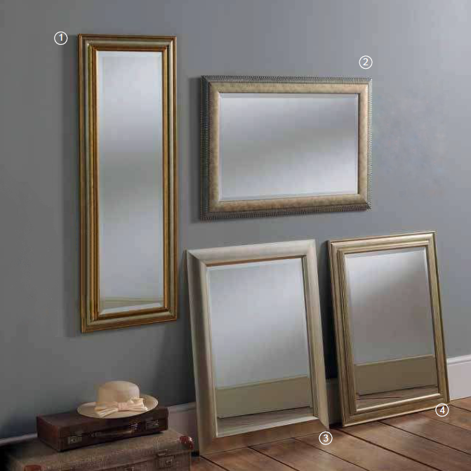marbella range of rectangular mirrors bournemouth poole. Black Bedroom Furniture Sets. Home Design Ideas