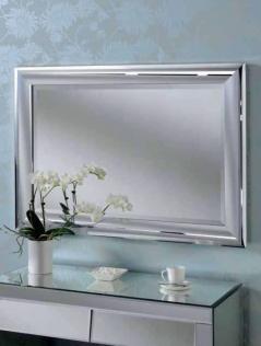 chrome rectangular mirror