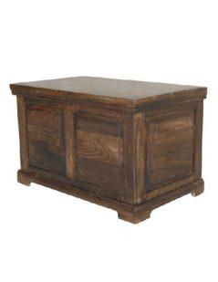 Dark mango wood Blanket Box