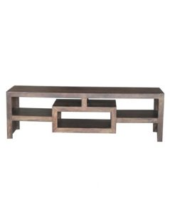 Dark mango wood TV stand Media Unit