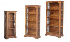 colonial Jali style sheesham wood bookcase