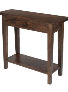 dark mango wood console table_2