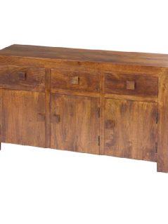 dark mango wood sideboard