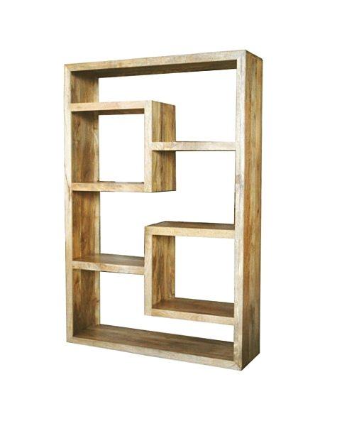 Light Mango Wood Bookcase BournemouthPooleDorset