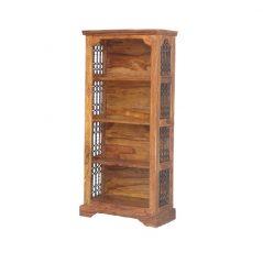 sheesham wood bookcase_2