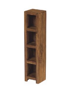 sheesham wood cd storage unit