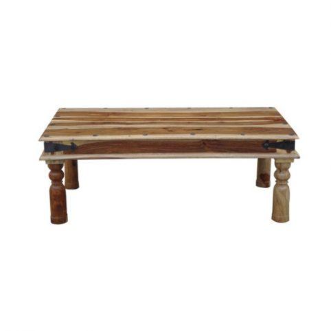 Jali style sheesham wood coffee table