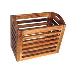 sheesham wood magazine rack