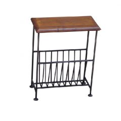sheesham wood magazine rack table_2
