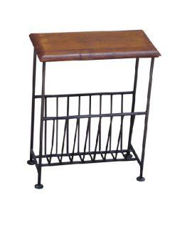 sheesham wood magazine rack table_2