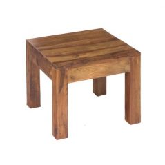 sheesham wood square side table_3