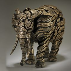 Handpainted Contemporary Elephant Sculpture