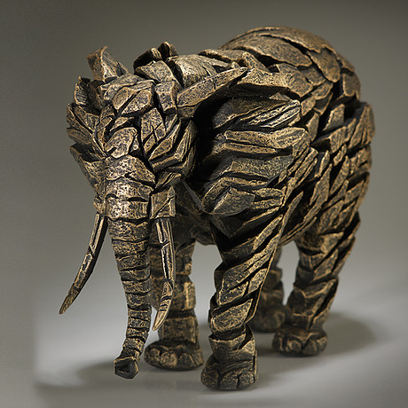 Handpainted Contemporary Elephant Sculpture