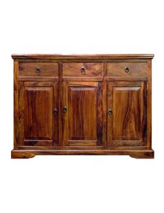 Sheesham wood Three Door Sideboard