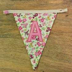 A bunting letter