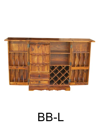 Sheesham Wood Drinks Cabinet