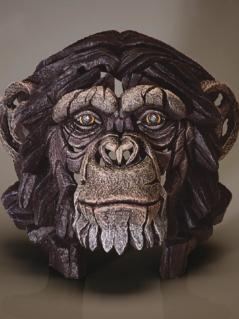 Chimpanzee Bust sculpture from UK