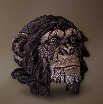 Chimpanzee Bust sculpture