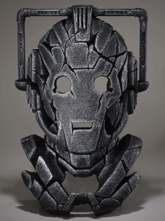 Cyberman bust sculpture