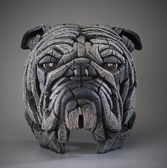 Dog white sculpture