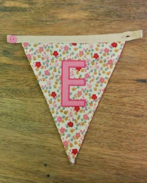 E bunting letter