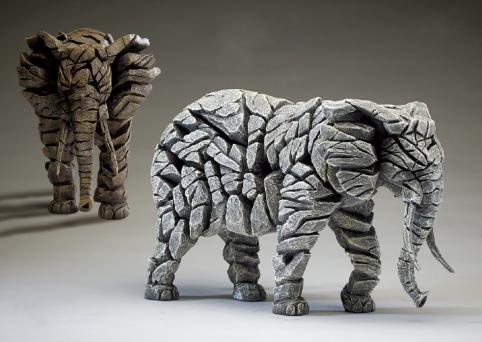 Handpainted Contemporary Elephant Sculpture UK