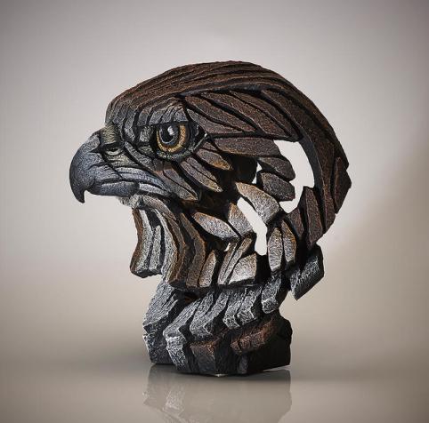 Brown Falcon Bust sculpture