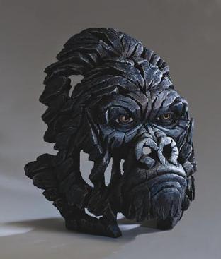 Gorilla Bust sculpture