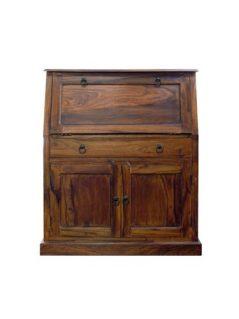 sheesham wood writing bureau