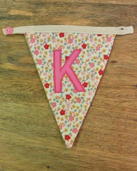 K bunting letter