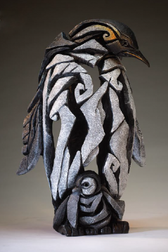 Hand Painted Contemporary Penguin Sculpture from the UK