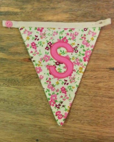 S bunting letter