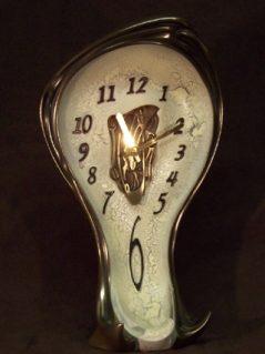 Dali Inspired Mantel Clock