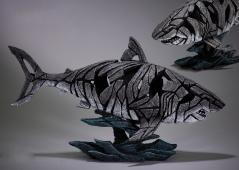 Shark sculpture from UK artist