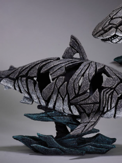 Shark sculpture from UK artist