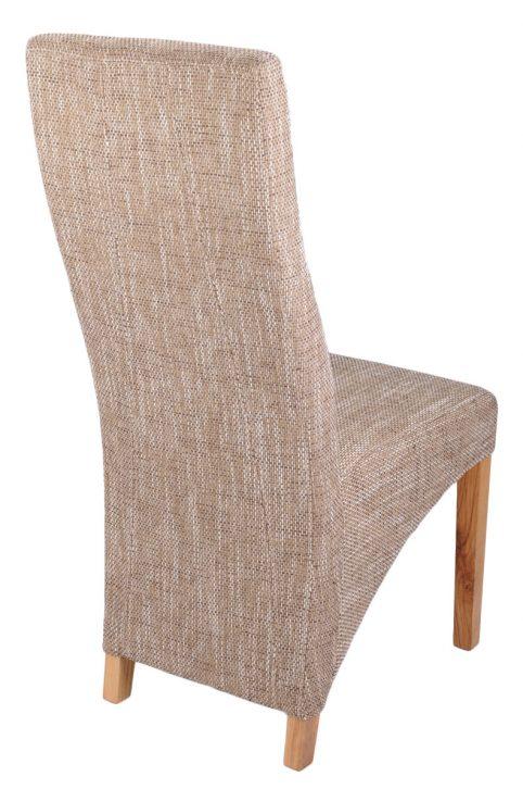 tweed dining chair