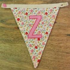 Z bunting letter