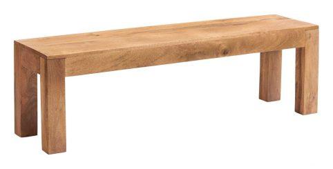 Light mango wood Bench