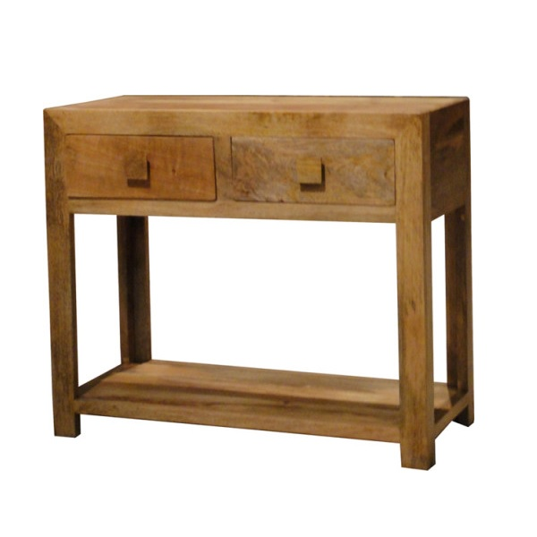 Light Mango Wood Console Table BournemouthPoole