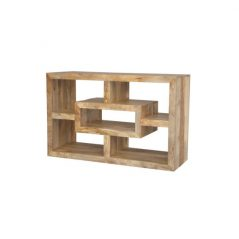 light mango wood media unit